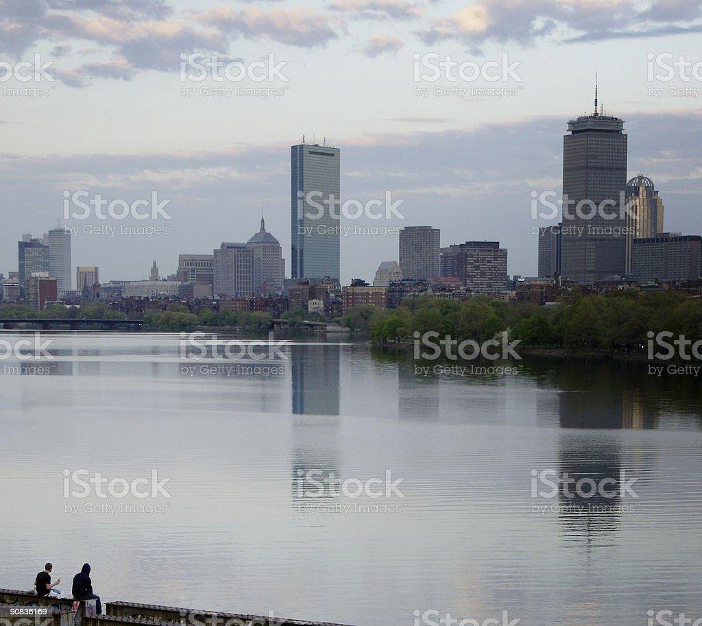 Boston drug deal royalty-free stock photo