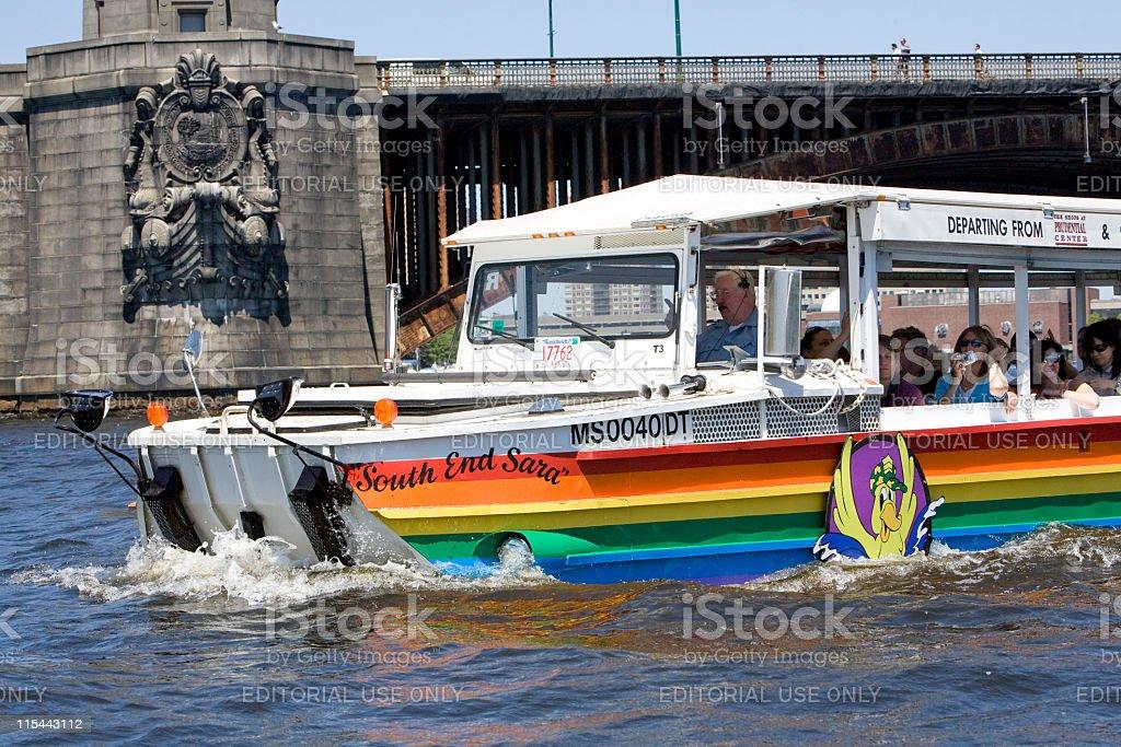 Boston Duck Tours royalty-free stock photo