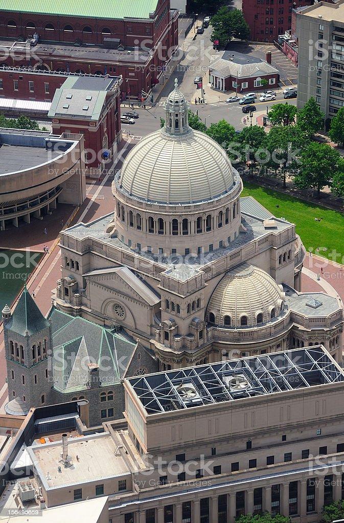 Boston First Church of Christ Scientist stock photo