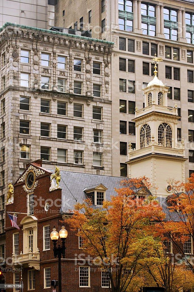 Boston Freedom Trail royalty-free stock photo