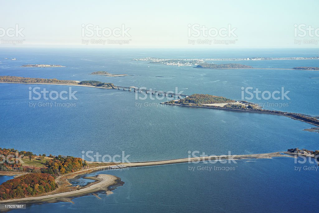 Boston Harbor Islands royalty-free stock photo