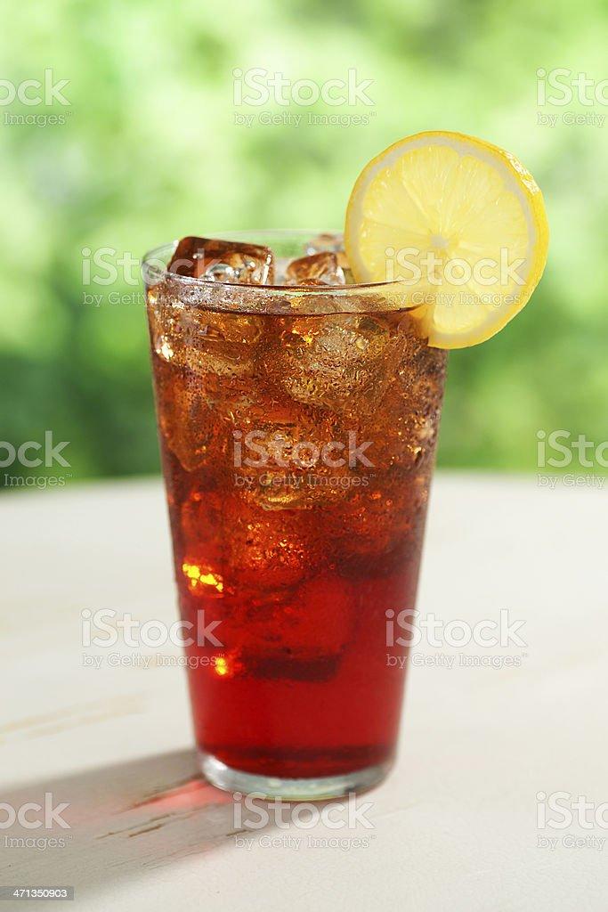 Boston Iced Tea stock photo