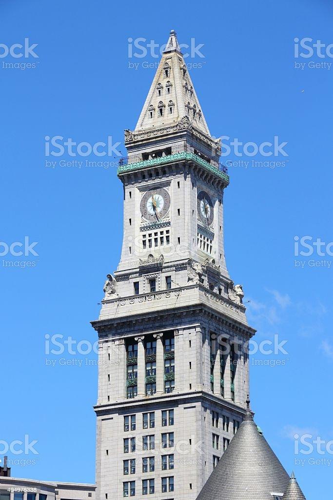 Boston landmark stock photo