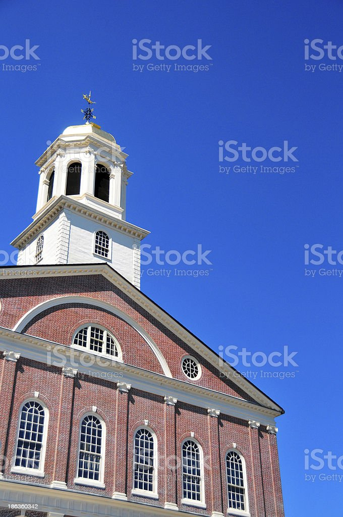 Boston, Massachusetts: Faneuil Hall stock photo