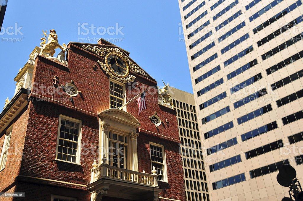 Boston, Massachusetts: Old State House stock photo