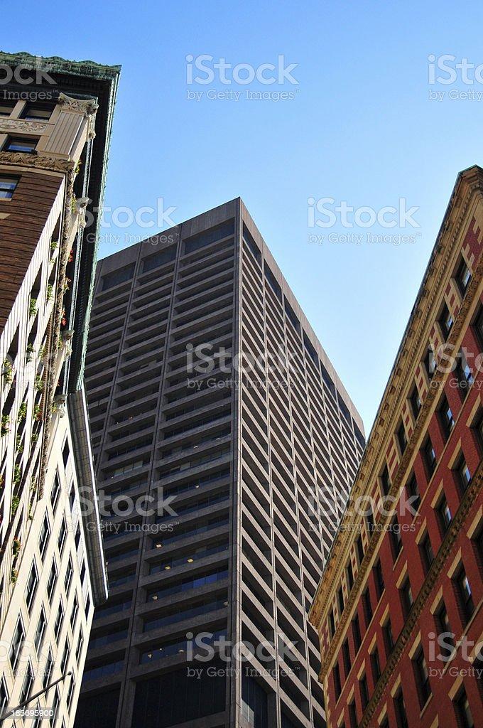 Boston, Massachusetts: One Beacon Street stock photo