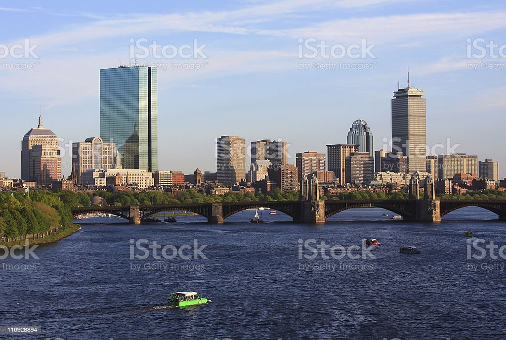Boston Massachusetts royalty-free stock photo