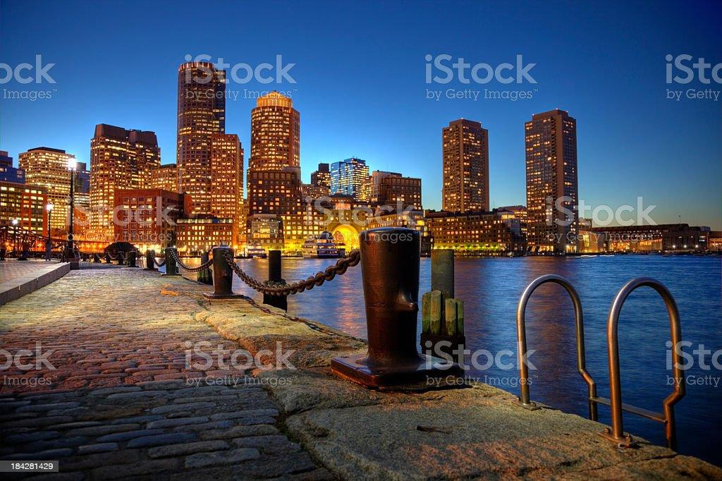 Boston Massachusetts royalty-free stock photo