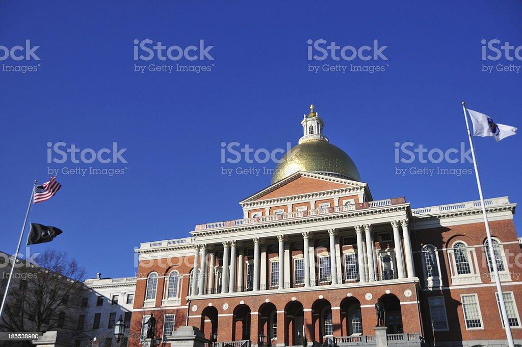 Boston, Massachusetts, USA: State House stock photo