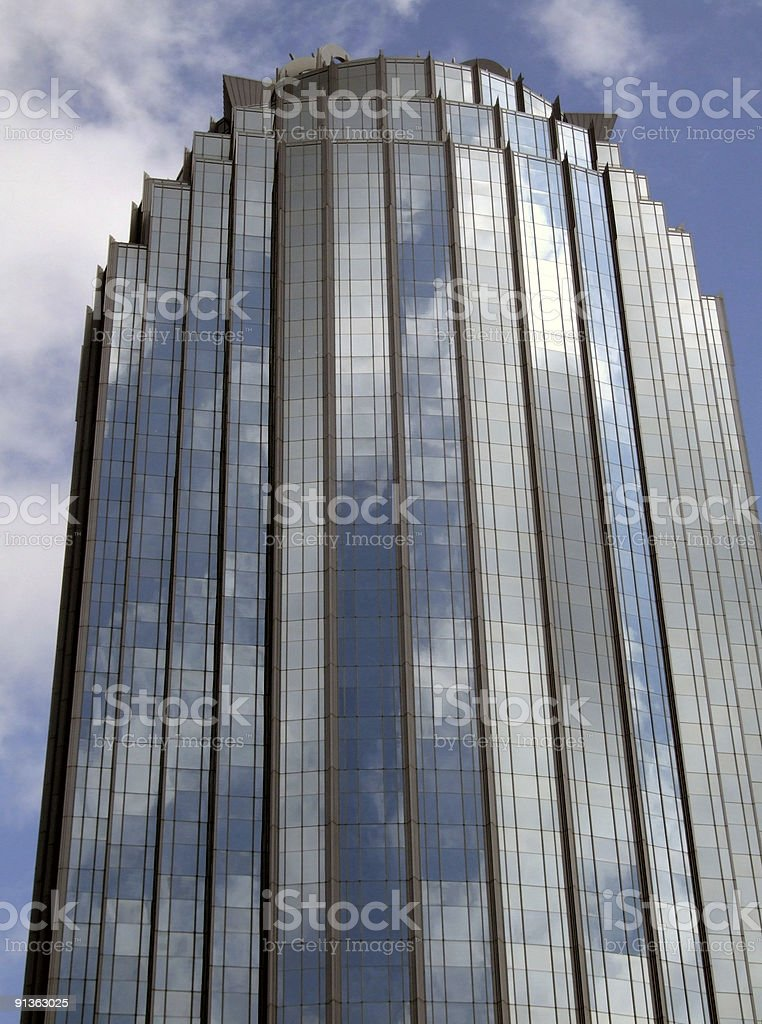 Boston Office Tower royalty-free stock photo