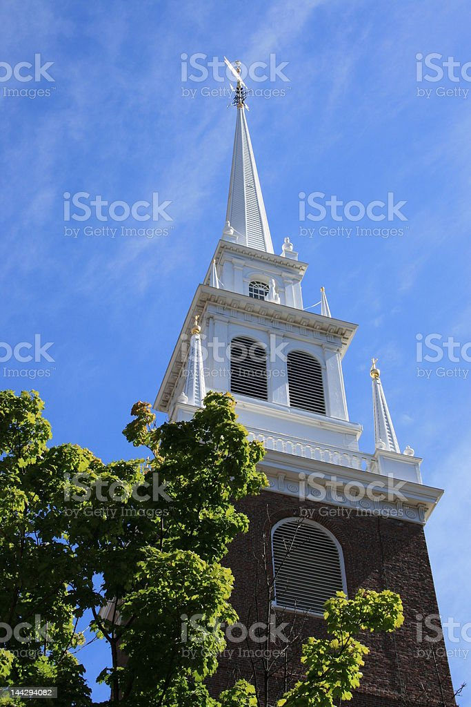 Boston. stock photo