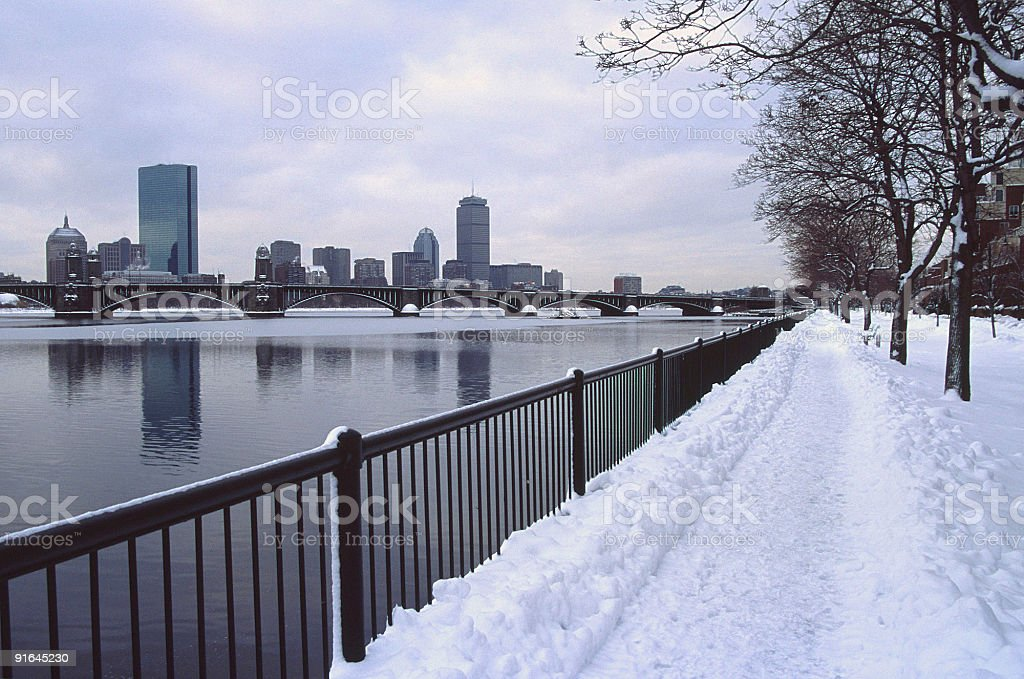 Boston royalty-free stock photo