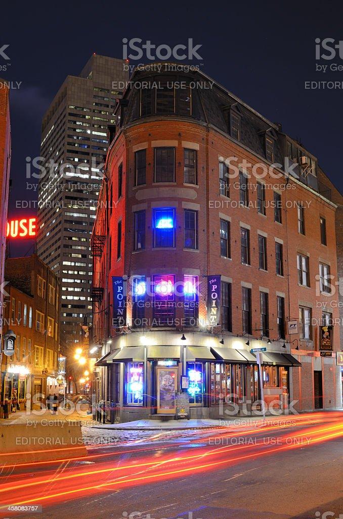 Boston Pubs stock photo