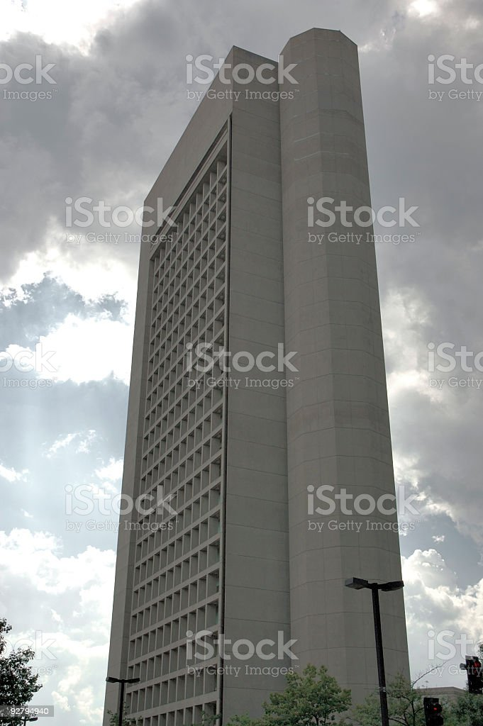 Boston skyline 10 stock photo