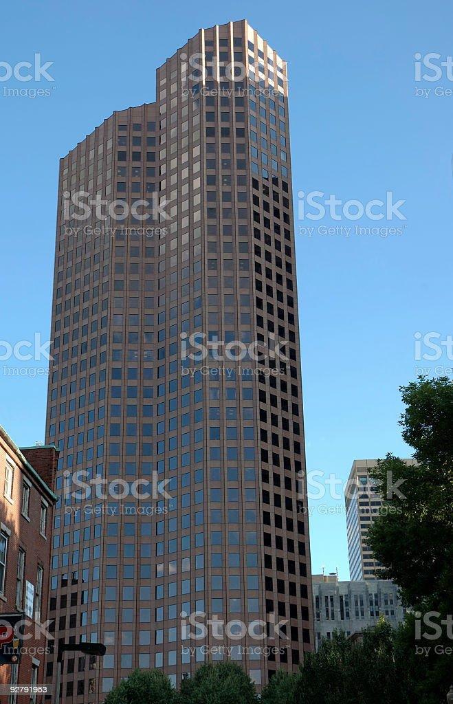 Boston skyline 5 royalty-free stock photo