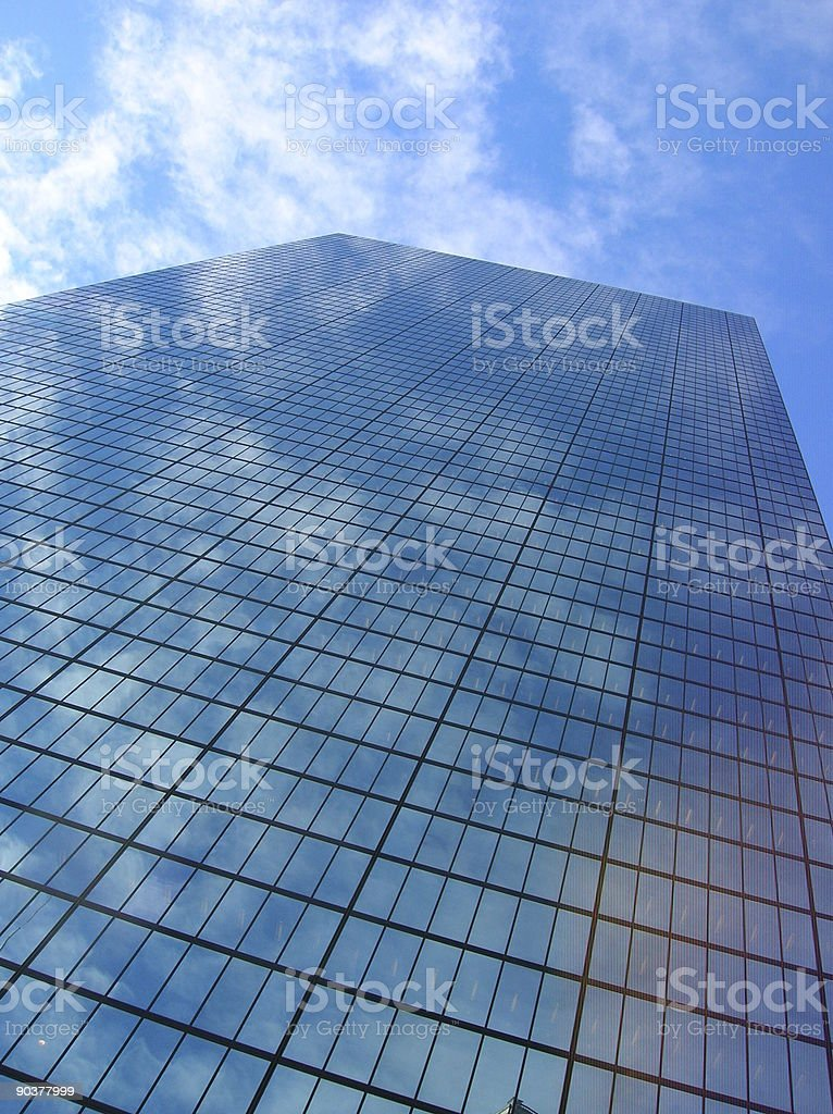 Boston skyscraper. royalty-free stock photo