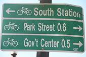 Boston street sign