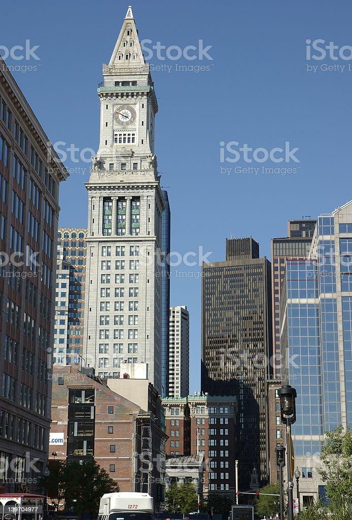 Boston streets 1 royalty-free stock photo