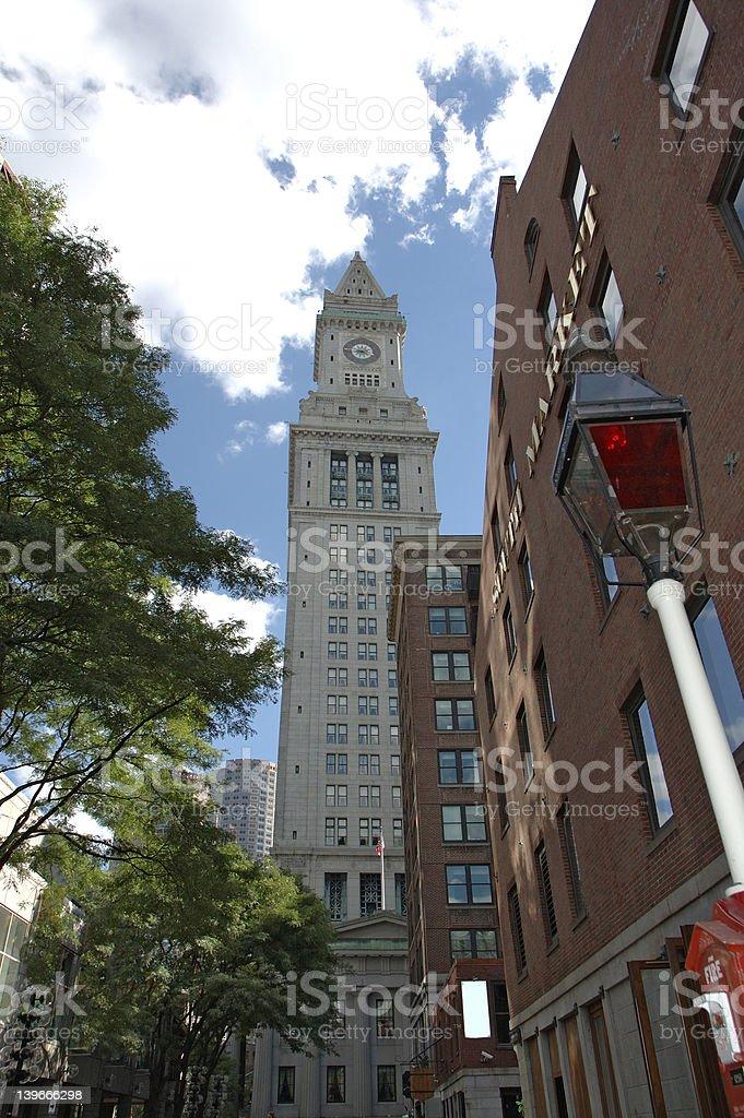 Boston streets 2 royalty-free stock photo