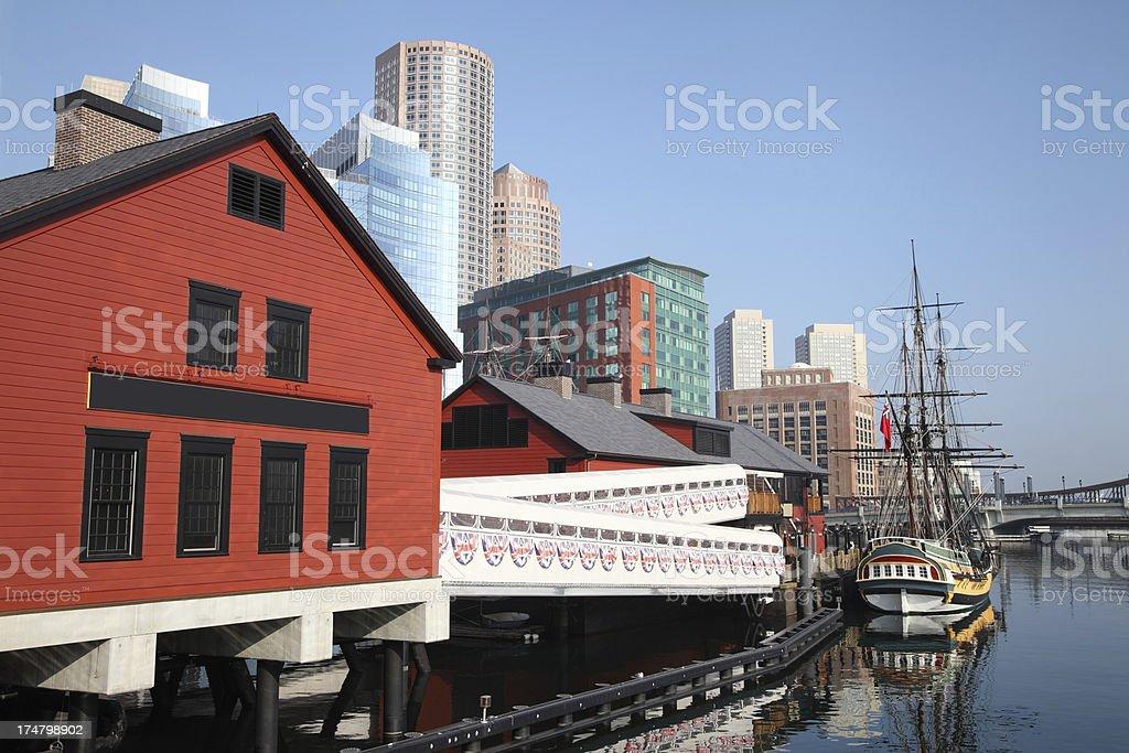 Boston Tea Party stock photo