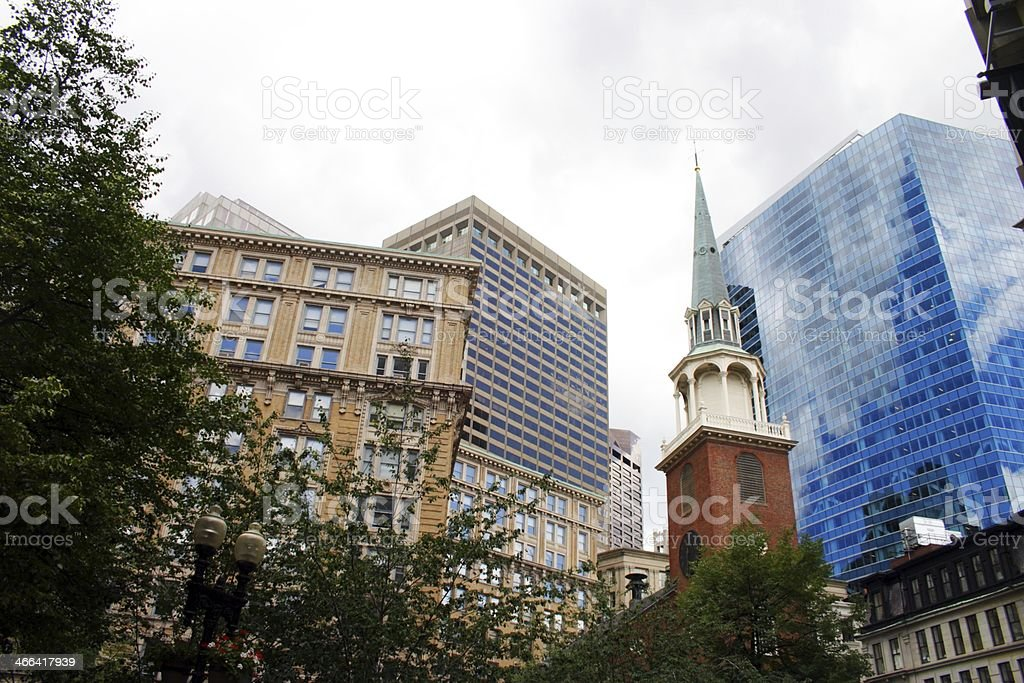 Boston, USA royalty-free stock photo