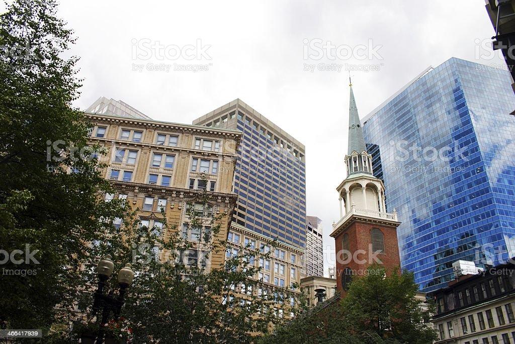 Boston, USA stock photo