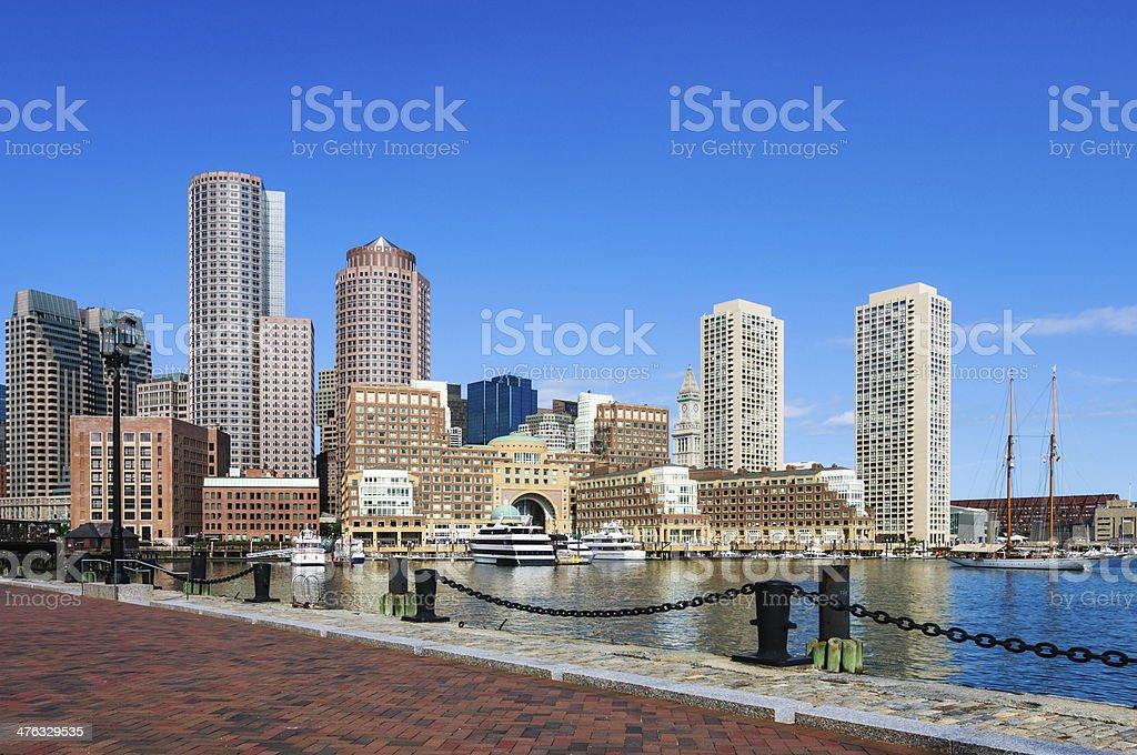 Boston Waterfront royalty-free stock photo