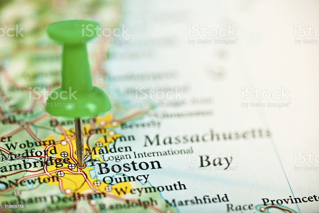 Boston,MA royalty-free stock photo