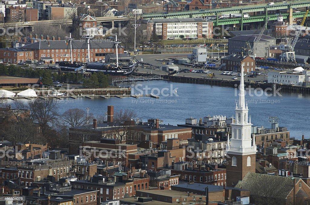Boston's North End stock photo
