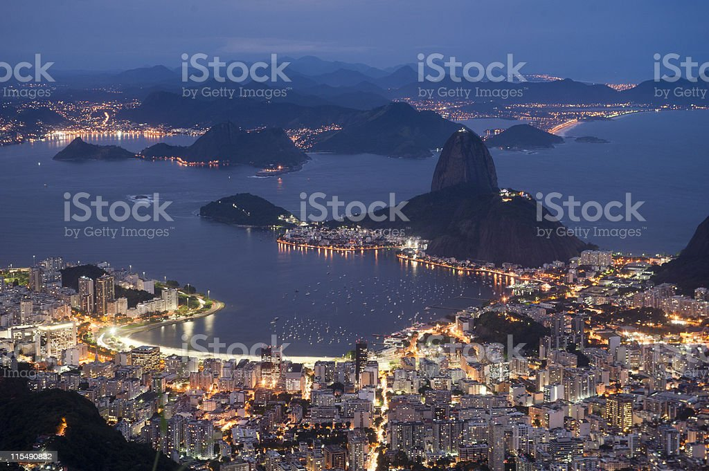 Botafogo bay stock photo