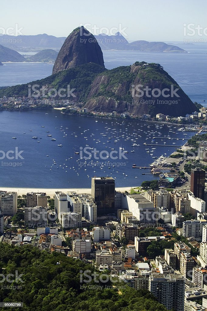 Botafogo Bay royalty-free stock photo