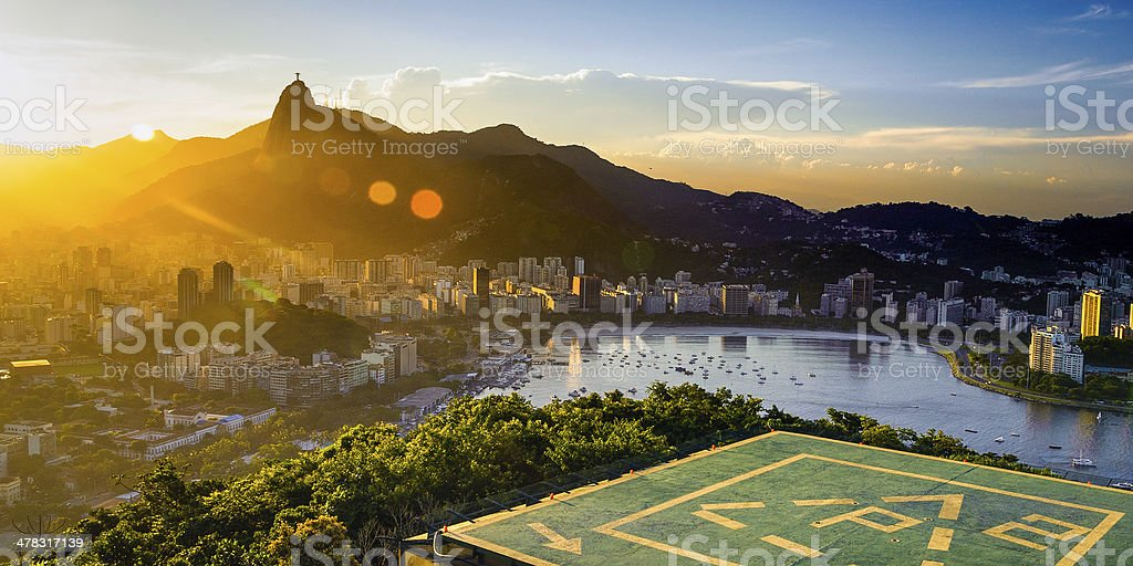 Botafogo neighborhood royalty-free stock photo