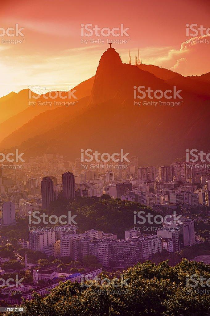 Botafogo neighborhood royalty-free stock photo