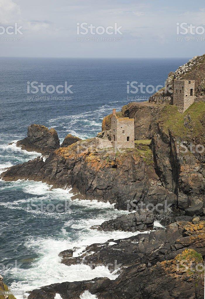 Botallack Mine, Cornwall stock photo