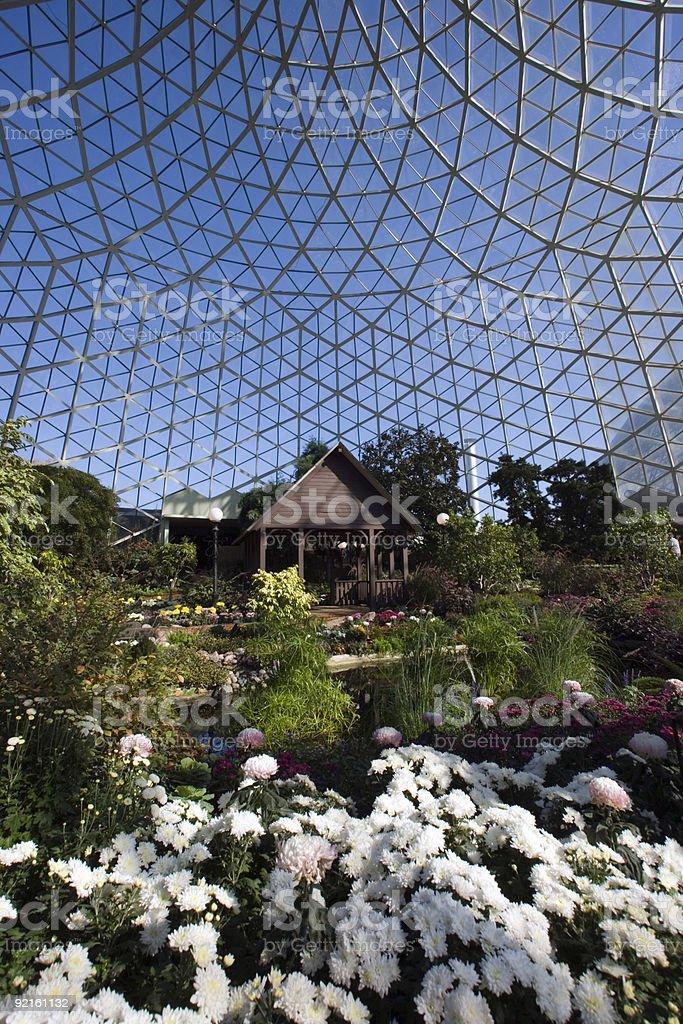 Botanic Garden in Milwaukee royalty-free stock photo