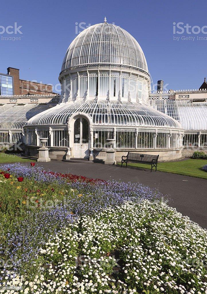 Botanic Greenhouse royalty-free stock photo