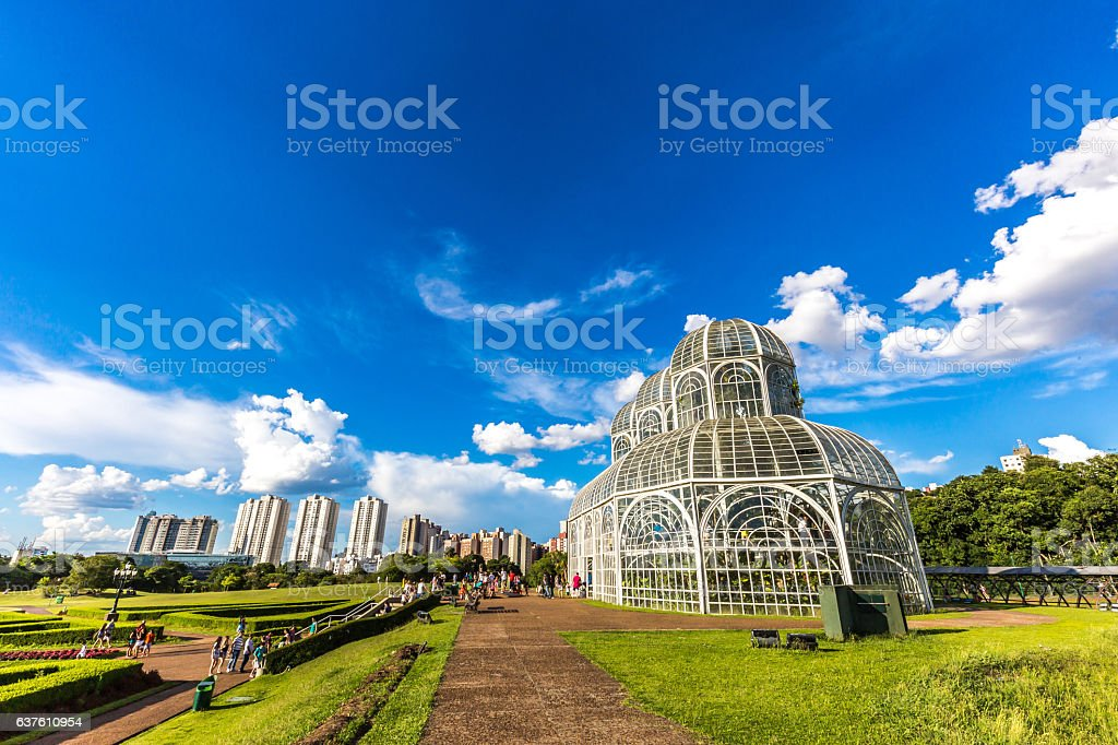 Botanical Garden, Curitiba. Parana State, Brazil stock photo