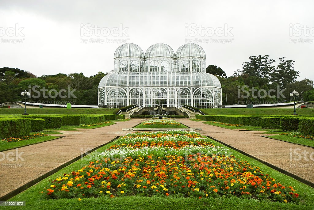 Botanical Garden Greenhouse stock photo