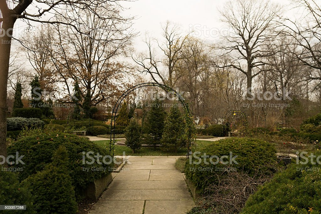 Botanical Gardens in Ohio stock photo