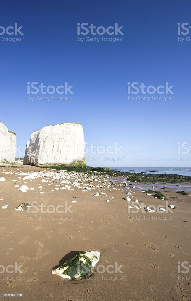 Botany Bay in Kent, England royalty-free stock photo