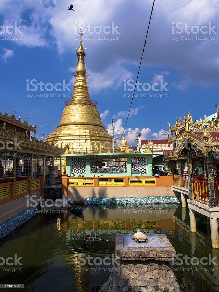 botataung pagoda,Myanmar royalty-free stock photo