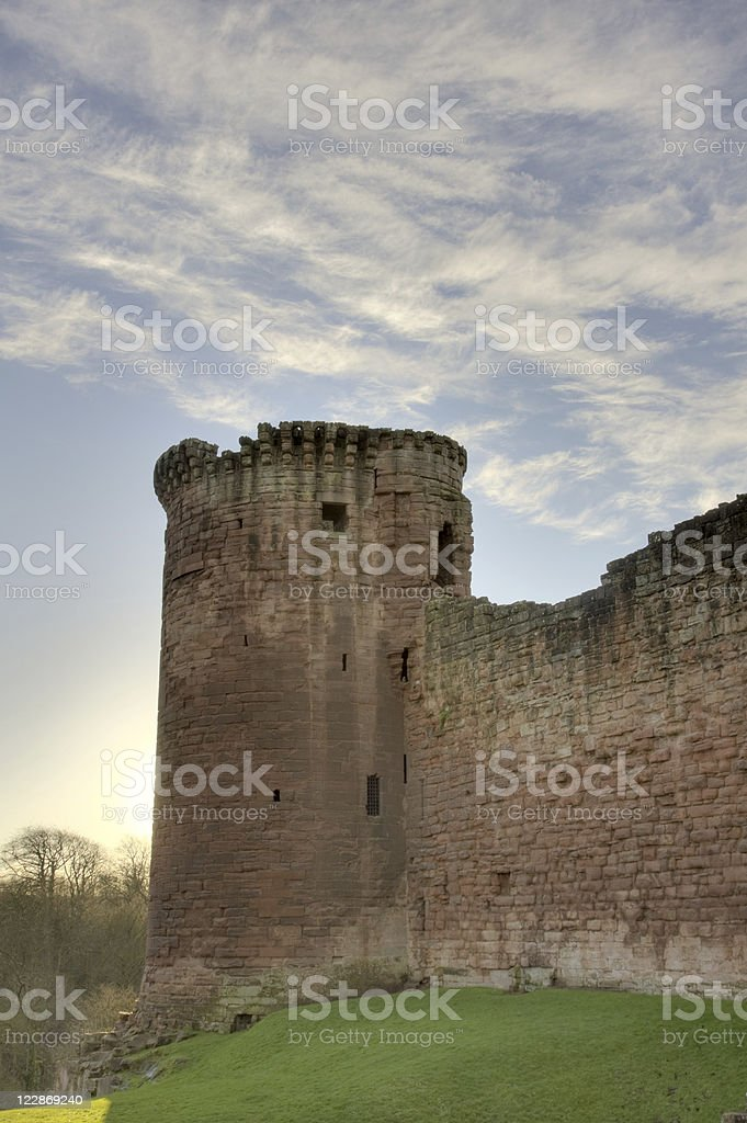 Bothwell Castle - Tower royalty-free stock photo