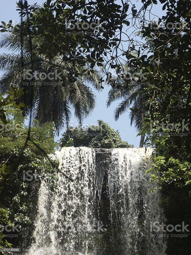 Boti Falls stock photo