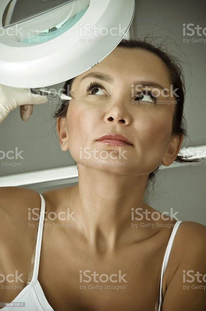 botox addict royalty-free stock photo