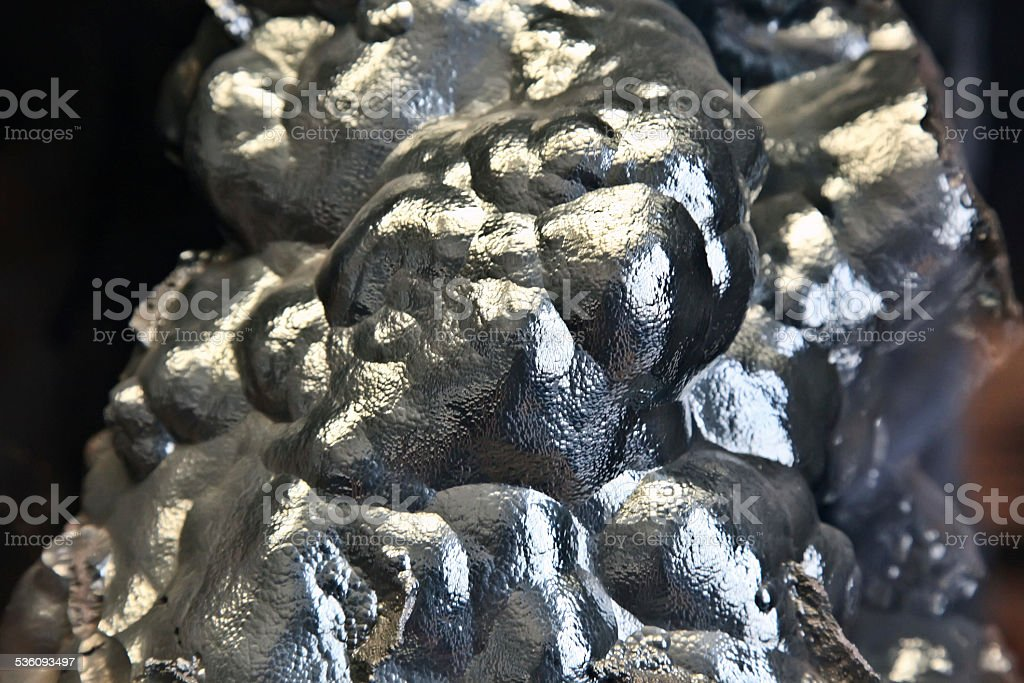 Botryoidal Hematite stock photo