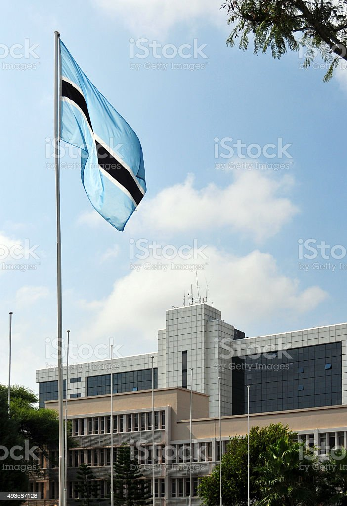 Botswana Ministry of Education, Gaborone stock photo