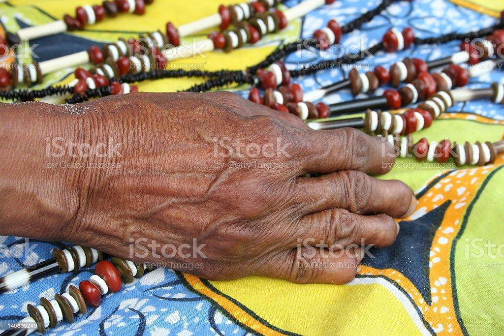 Botswana Native stock photo