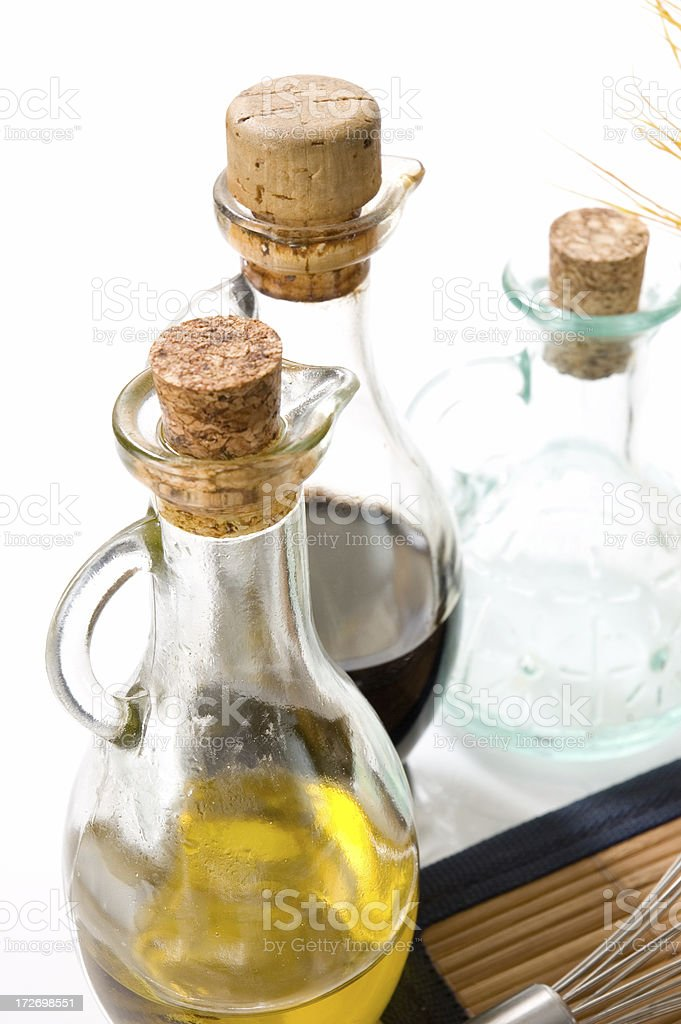 bottle and olive oil stock photo