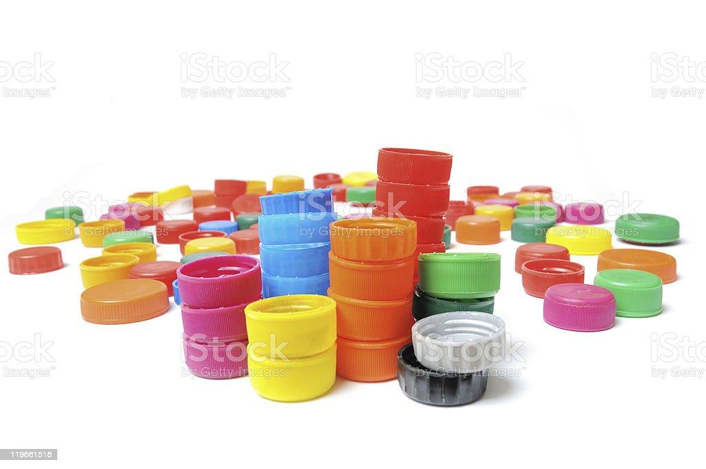 Bottle Caps stock photo