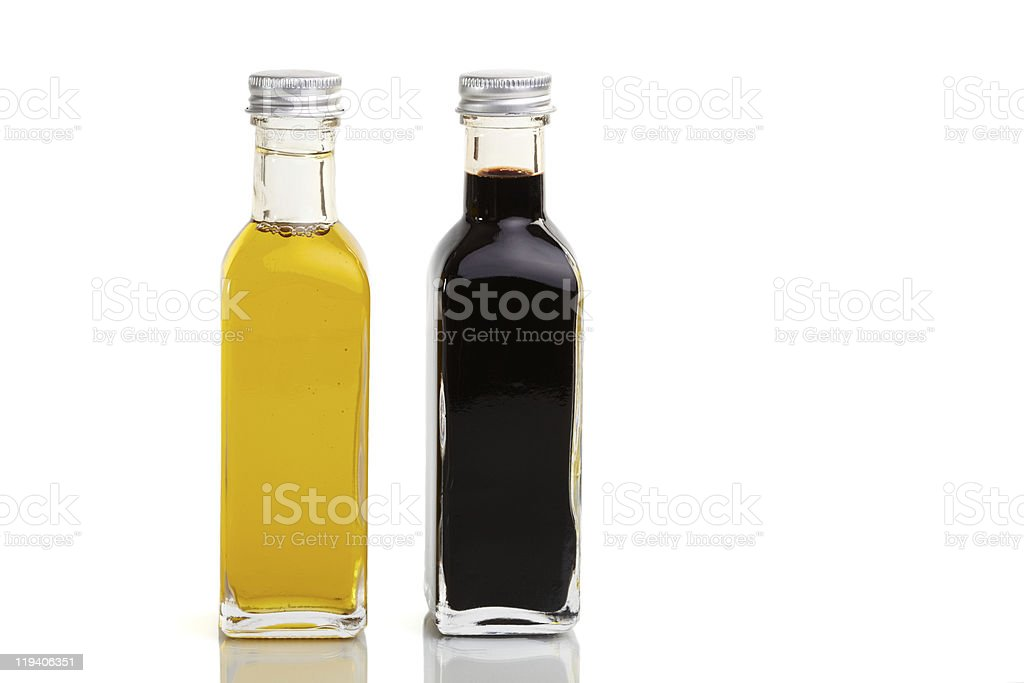 Bottle Duo royalty-free stock photo